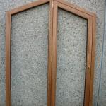 Portafinestra 1 anta + fisso laterale – pentagonale