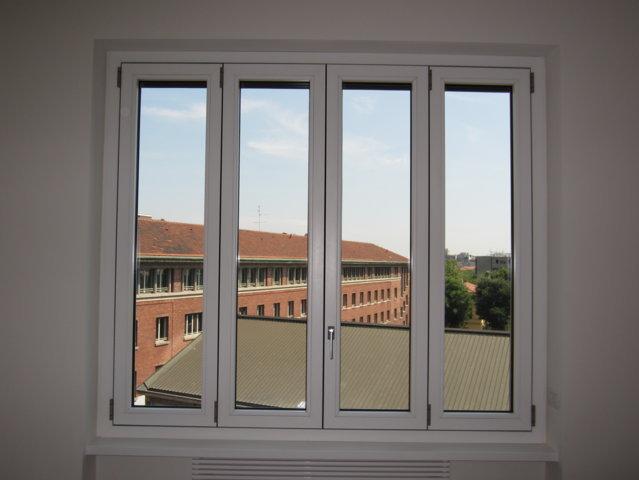Finestre alluminio legno monza team srl - Finestra a 2 ante ...