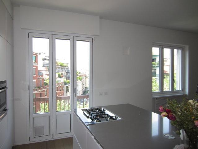 Finestre alluminio legno monza team srl - Porta finestra scorrevole esterna ...