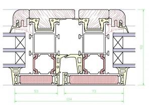 Assieme centrale mm.93×138 – profilo TZ